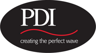 mark for PDI CREATING THE PERFECT WAVE, trademark #85372440