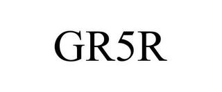 mark for GR5R, trademark #85372683