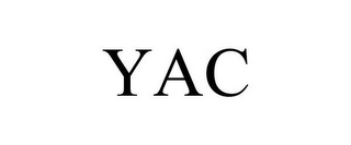 mark for YAC, trademark #85374214