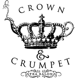 mark for CROWN & CRUMPET TEA SALON, trademark #85374651