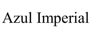 mark for AZUL IMPERIAL, trademark #85374960