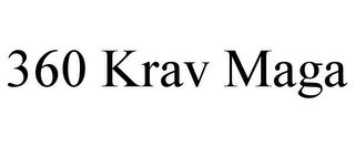 mark for 360 KRAV MAGA, trademark #85376628