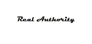 mark for REAL AUTHORITY, trademark #85377212