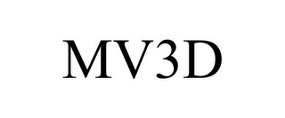 mark for MV3D, trademark #85377344