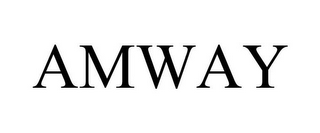 mark for AMWAY, trademark #85378203