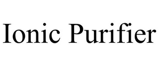 mark for IONIC PURIFIER, trademark #85378229