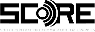 mark for SCORE SOUTH CENTRAL OKLAHOMA RADIO ENTERPRISES, trademark #85378927