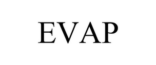 mark for EVAP, trademark #85380168