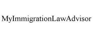 mark for MYIMMIGRATIONLAWADVISOR, trademark #85380243