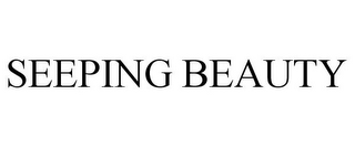 mark for SEEPING BEAUTY, trademark #85380348