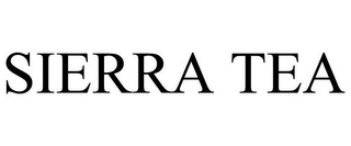 mark for SIERRA TEA, trademark #85381225