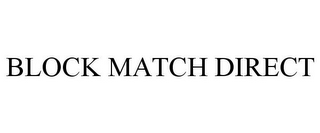 mark for BLOCK MATCH DIRECT, trademark #85381233