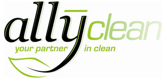 mark for ALLYCLEAN YOUR PARTNER IN CLEAN, trademark #85382134