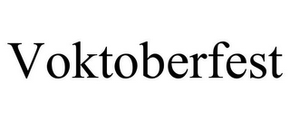 mark for VOKTOBERFEST, trademark #85382426