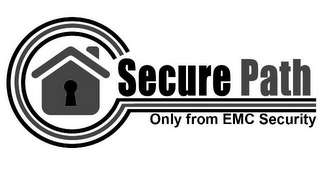 mark for SECURE PATH ONLY FROM EMC SECURITY, trademark #85382525