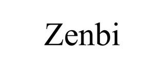 mark for ZENBI, trademark #85382596