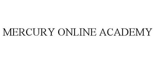 mark for MERCURY ONLINE ACADEMY, trademark #85382620