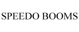 mark for SPEEDO BOOMS, trademark #85384542