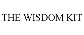 mark for THE WISDOM KIT, trademark #85385750