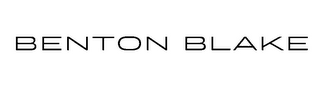 mark for BENTON BLAKE, trademark #85386148