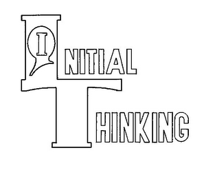 mark for INITIAL THINKING, trademark #85386871