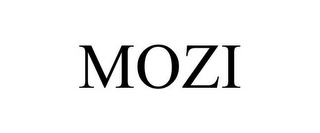 mark for MOZI, trademark #85387351