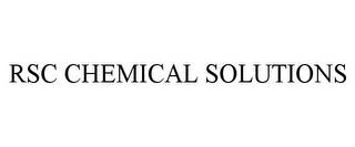 mark for RSC CHEMICAL SOLUTIONS, trademark #85387919