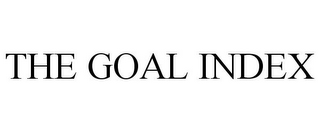 mark for THE GOAL INDEX, trademark #85388130