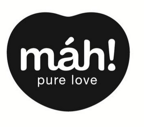 mark for MÀH! PURE LOVE, trademark #85388385