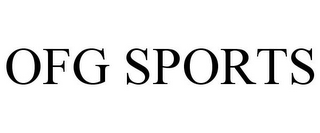 mark for OFG SPORTS, trademark #85388550