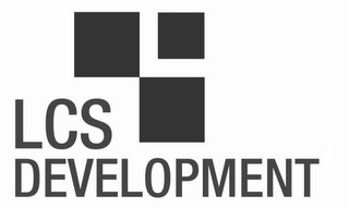 mark for LCS DEVELOPMENT, trademark #85388757