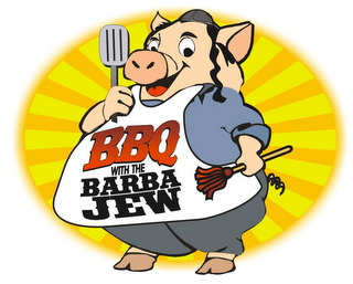 mark for BBQ WITH THE BARBA JEW, trademark #85389101