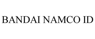 mark for BANDAI NAMCO ID, trademark #85389580