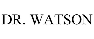 mark for DR. WATSON, trademark #85389708