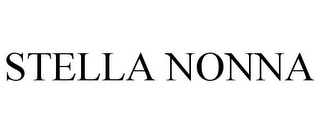 mark for STELLA NONNA, trademark #85390017