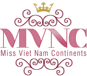 mark for MVNC MISS VIET NAM CONTINENTS, trademark #85390178