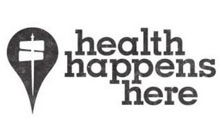 mark for HEALTH HAPPENS HERE, trademark #85390260