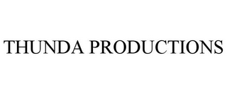 mark for THUNDA PRODUCTIONS, trademark #85390613