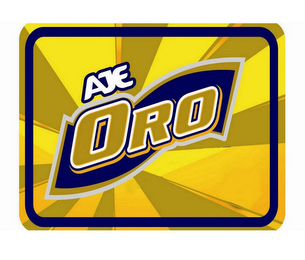 mark for AJE ORO, trademark #85391065