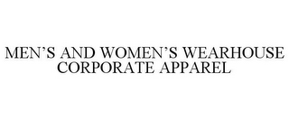 mark for MEN'S AND WOMEN'S WEARHOUSE CORPORATE APPAREL, trademark #85391970