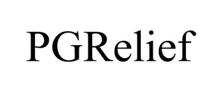 mark for PGRELIEF, trademark #85391983