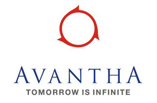 mark for AVANTHA TOMORROW IS INFINITE, trademark #85392019