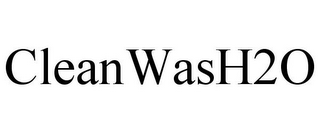 mark for CLEANWASH2O, trademark #85392294