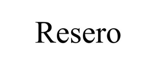 mark for RESERO, trademark #85393375