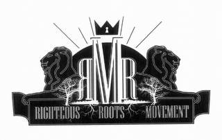 mark for RRM RIGHTEOUS ROOTS MOVEMENT, trademark #85394262