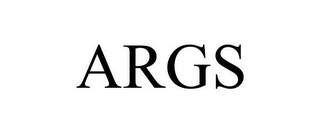 mark for ARGS, trademark #85394322