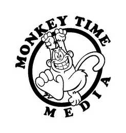 mark for MONKEY TIME MEDIA, trademark #85394493