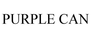 mark for PURPLE CAN, trademark #85394850
