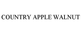 mark for COUNTRY APPLE WALNUT, trademark #85396217