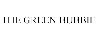 mark for THE GREEN BUBBIE, trademark #85396707